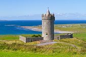Doonagore castle near Doolin in Ireland