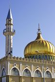 Minaret And Mosque Of Nabi Saeen In Nazareth, Israel