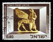 Exhibits Of The Israel Museum, Jerusalem  Phoenician Ivory Sphinx