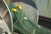 Fishboat Gillnet Drum and Net