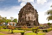 Candi Kalasan buddhist temple in Prambanan valley on  Java. Indonesia. Built around 778 a.d. it supp