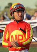 Thoroughbred Jockey Martin Garcia