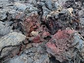 Lava flow of 1974 on Big Island, Hawaii