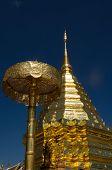 Golden Stupa, Chiang Mai