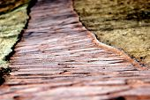 Flagstone Path Wide