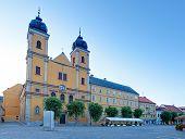 Piaristic Church Of St. Frantiska Xavarskeho In Trencin, Slovakia