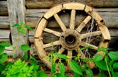 Old fashioned cart-wheel.