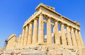 image of ancient civilization  - Ancient Parthenon temple - JPG