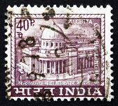 Postage Stamp India 1968 General Post Office, Calcutta