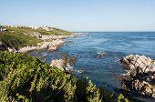 Gansbaai Coastline In South Africa