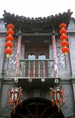 Traditionelles Haus in Pingyao, china