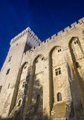 Avignon, Palais Des Papes By Night