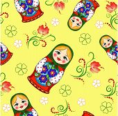 Seamless Russian Doll
