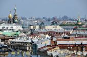 Aerial View Of Saint Petersburg