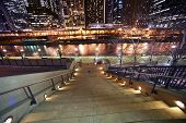 Stairs To Riverwalk