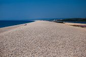Chesil beach, Dorset, UK