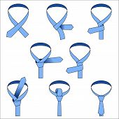 Tie Double Simple Knot Instruction