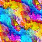 glare from paint colorful yellow band watercolor seamless textur