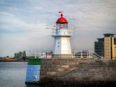 Malmo, Sweden Old Lighthouse On August 7, 2013