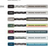 Original Header Shapes 94