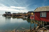 Tind - idyllic fishing village at Lofoten