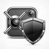 Safe Icon & Shield