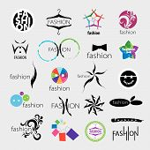 Collection Of Vector Logos For Clothing And Fashion Accessories