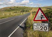 Road Sign Danger