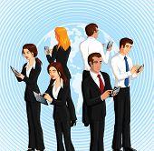 Smart phones and digital tablets.