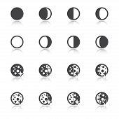 Moon Phases Symbols