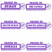 Travel To, Stamps