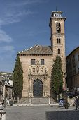 Church Of St. Ana And St. Gil. Mudejar Church, Granada, Andalusia, Spain