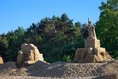 IV International Gdansk Plener Sculptures Made Of Sand