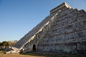 Spring Equinox At Chichen Itza Kukulcan Temple