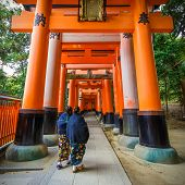 Fushimi Inari - taisha shrine in Kyoto, Japan