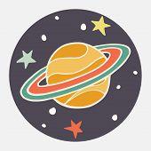 Doodle Saturn