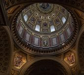 St. Stephen's Basilica In Budapest.