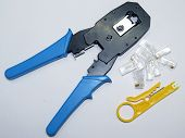 Network Cable Crimper Tool