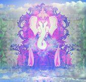 Diwali Ganesha Design