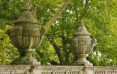 Detail Of Decorative Ornaments Fence Massandra Palace.