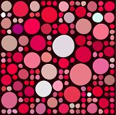 Pattern with random circles