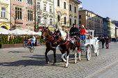 Horse-drawn Carriage, Krakow