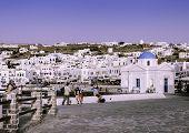 Myconos Cityscape