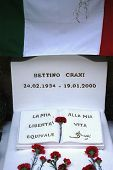 Hammamet - Tunisia - Africa - February 2014 - The Tomb Of Bettino Craxi