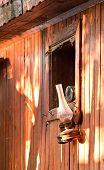 Vintage Kerosene Gas Lamp