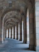 Arcade Walk In Genramn Congress Hall (nuremberg, Germany)