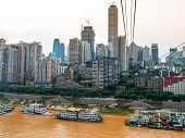 Yangtze River In Chongqing