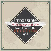 pic of maxim  - Impossible only means that you haven - JPG