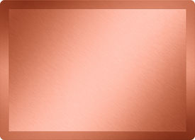 stock photo of bronze silver gold platinum  - bronz  texture of a plate and background - JPG
