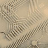 Printed Circuit From Keyboard